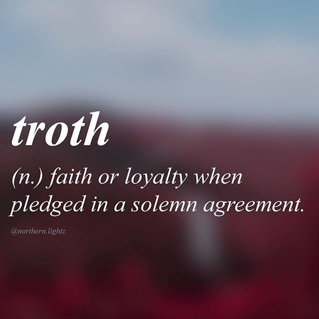English //trawth// •Tag someone that you trust | Word porN