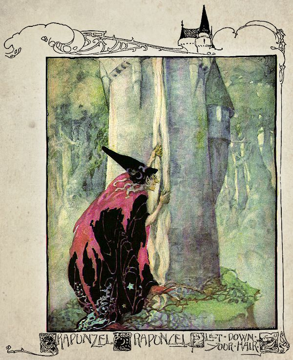 illustration by Anne Anderson from 'Anne Anderson's Old, Old Fairy Tales' (1935).