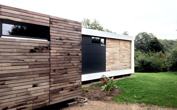 Kostengünstig und flexibel Wohnen im Öko-Container House - outdoor küche kaufen