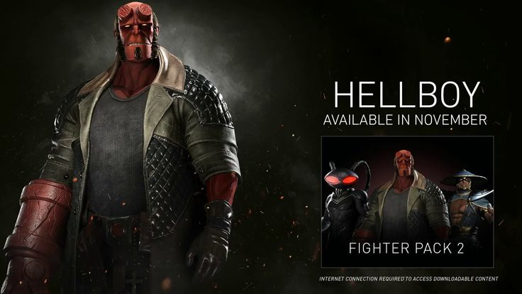 Injustice 2 HELLBOY Trailer New DLC https://www.youtube.com/watch?v=_-T_2MlZFvs&t=7s