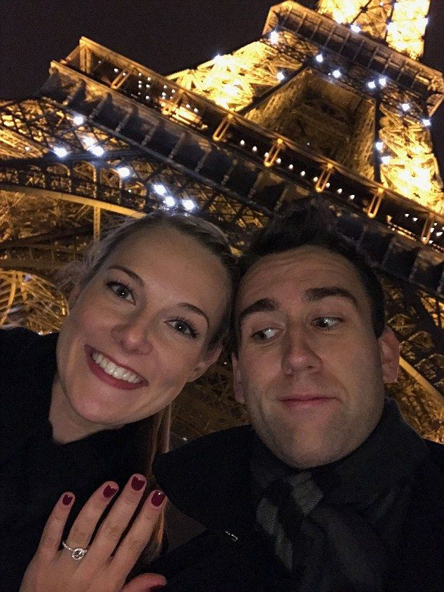 Neville finally gets the girl! Harry Potter star Matthew Lewis is engaged to Angela Jones | Daily Mail Online