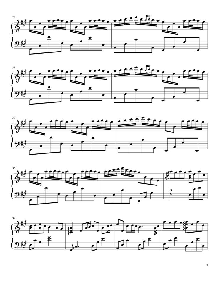 River flows in you sheet music for piano musescore