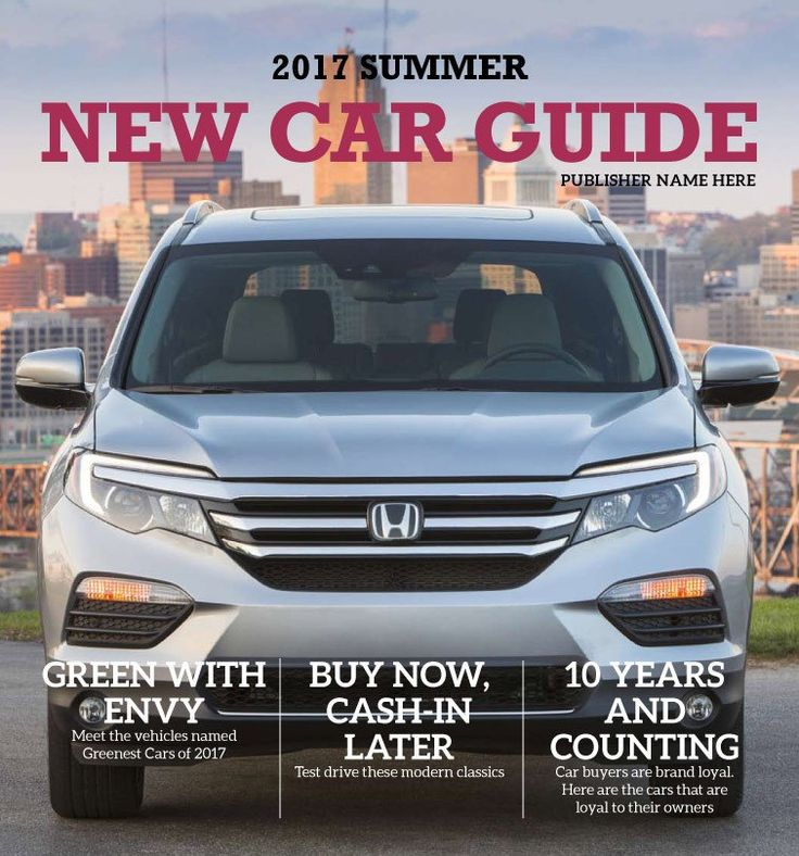 New Car Guide: Summer 2017