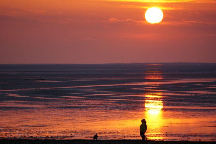 Sonnenuntergang im Töwerland