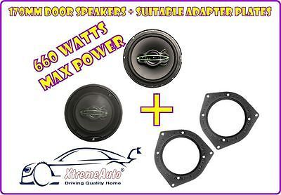 Front door & rear #speakers + #adaptor plates for bmw mini, 3, 5 series, #x1,x5,  View more on the LINK: http://www.zeppy.io/product/gb/2/291471230986/