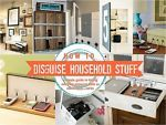 How to Hide Household Eyesores   Clutter