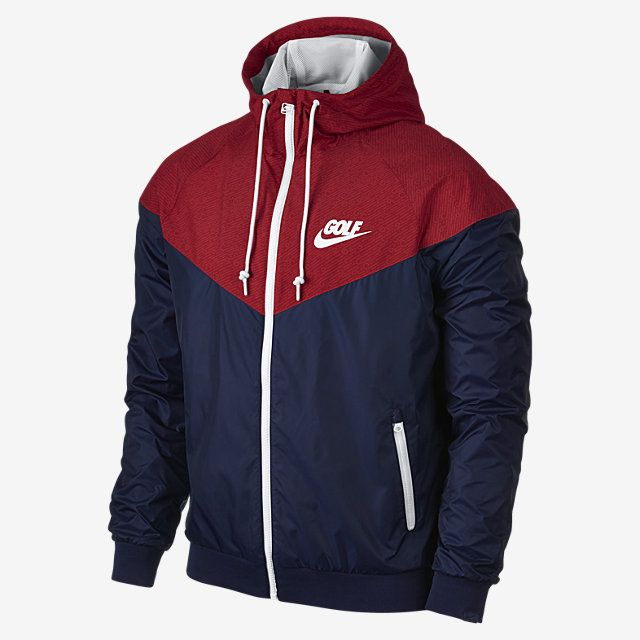 Nike Golf Windrunner Men's Jacket. Nike Store