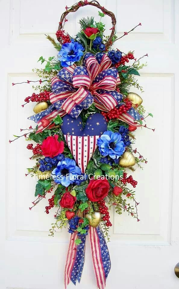30 Best Images About Patriotic Floral Arrangements On