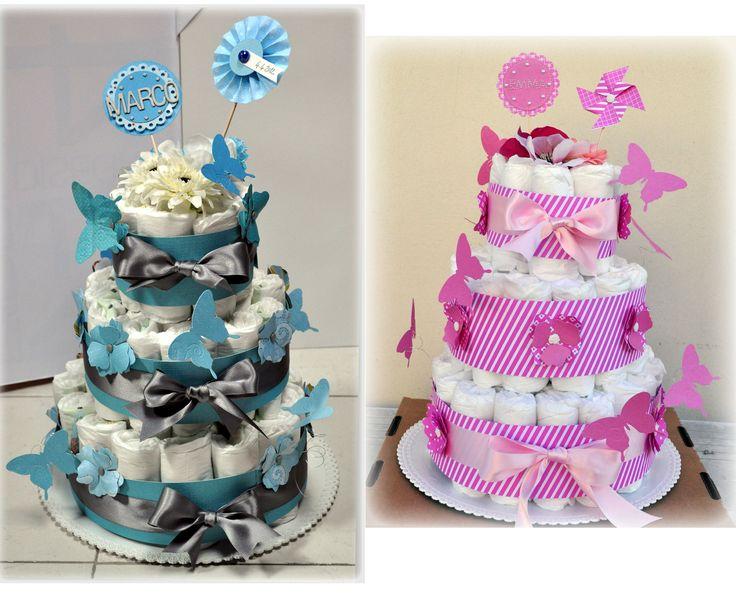 Top Oltre 25 fantastiche idee su Torte di pannolini su Pinterest  VL09