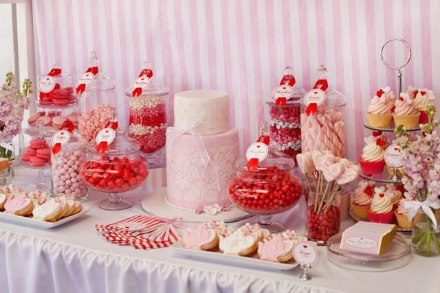 love is sweet bridal shower theme | ... Perfect for a Bridal Shower by Life is Sweet Candy Buffet - Paperblog