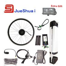 Best Price $235 Simple Electric Bike Kit With 36V Kettle Battery E Bicycle kit 250W 350W 500W motor Optional JSE-ZM-008