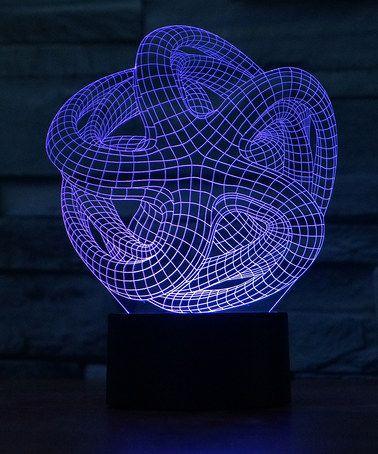 Look what I found on #zulily! Blue & Purple Starfish 3-D Illusion LED Desktop Lamp #zulilyfinds