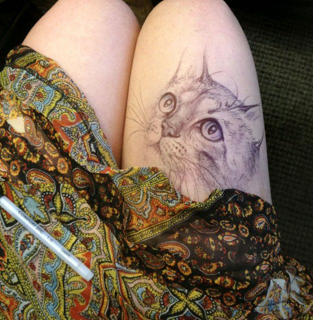 cat tatto