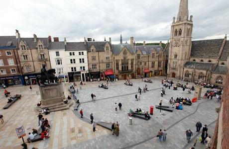 Market Place Durham City