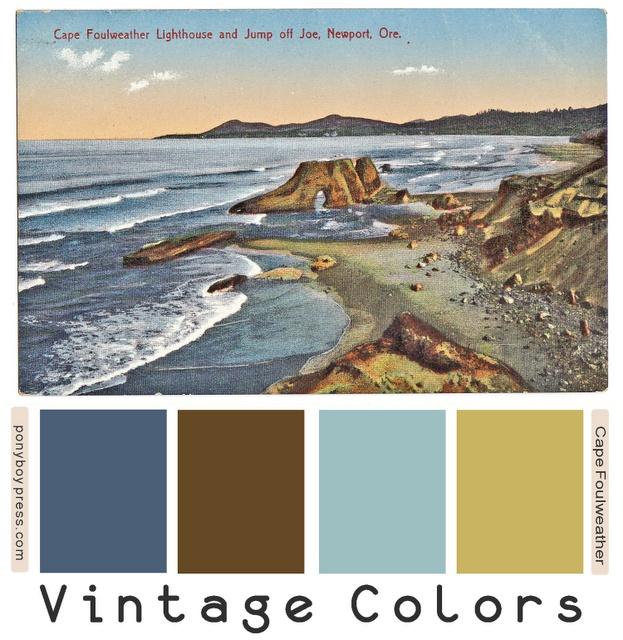 17 best images about vintage color palettes on pinterest
