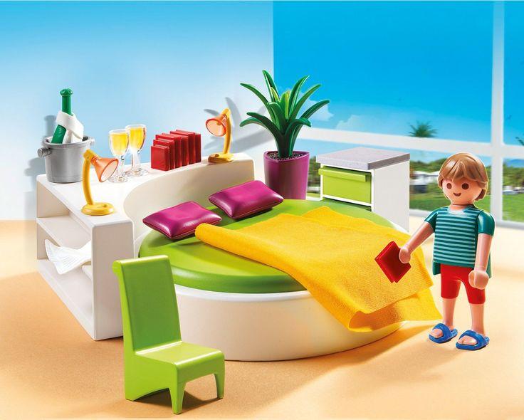Amazon.com: PLAYMOBIL Modern Bedroom Set: Toys & Games