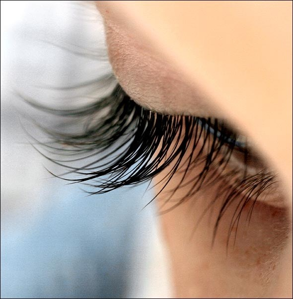 Vaseline on your eye lashes before bed, to help recondition them after curling/wearing waterproof mascara
