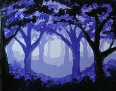 Enchanted-Mist Large to use as inspiration of forest for Red Riding Hood lesson