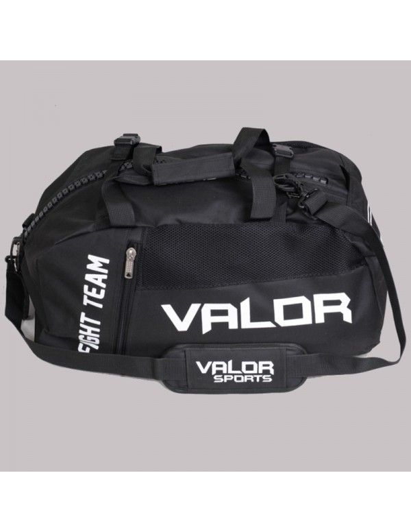 Plecak Torba Valor Senshi Convertible Czarna Gym Bag Bags Duffle Bag