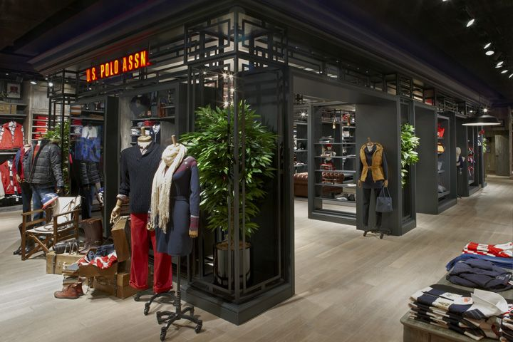 U s polo assn store by geomim istanbul turkey retail design blog istanbul retail and polos - Polo garage turkiye online shop ...