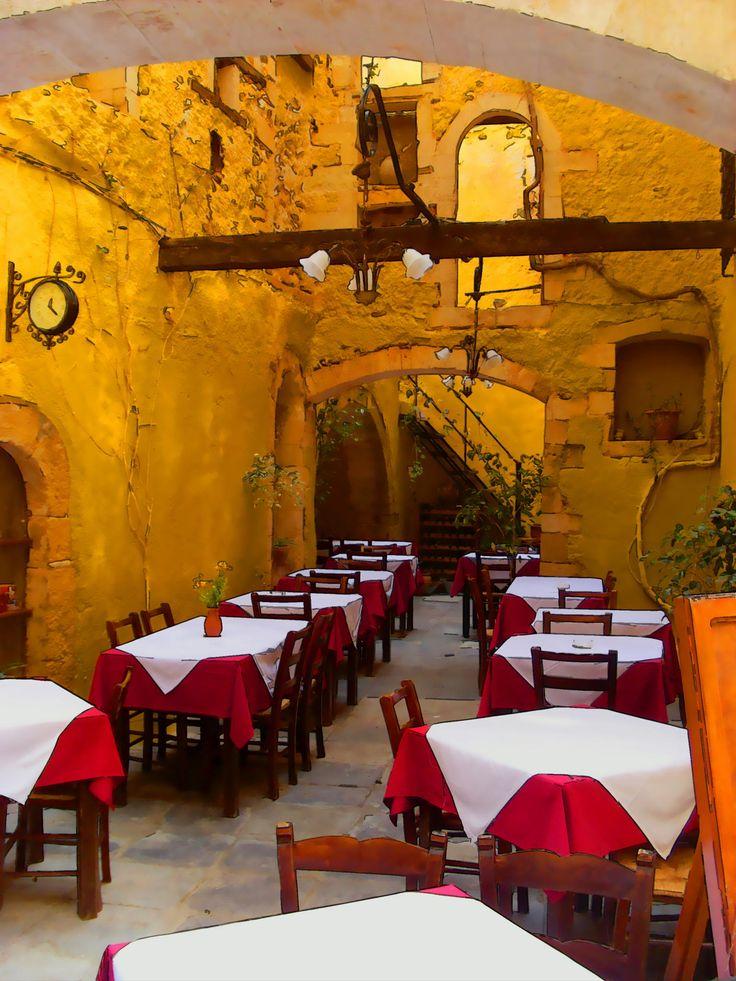Greek restaurant by Grzegorz Adamski on 500px