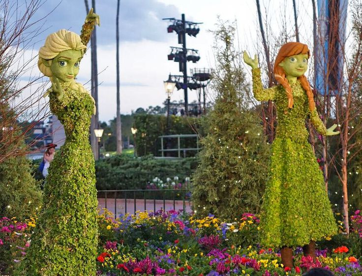 Image result for epcot food and wine festival 2017 topiaries