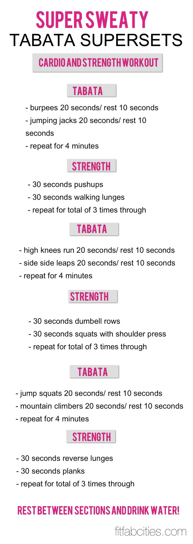Cardio and strength! Maybe I could try this when its nasty outside on run days Check out the website to see more