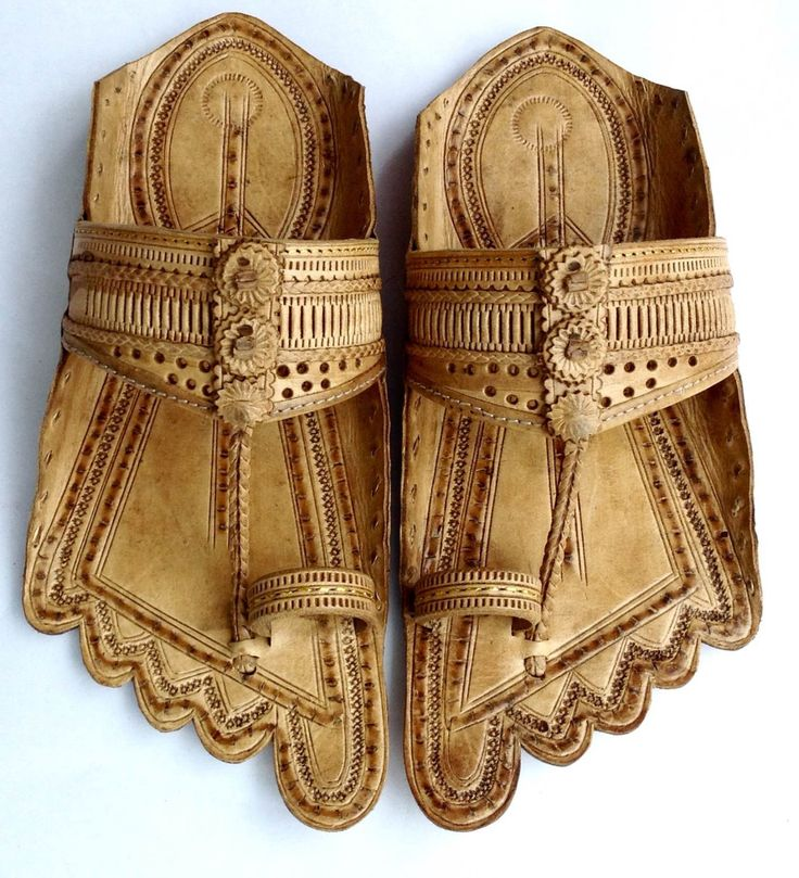 Unique Handmade Kolhapuri Leather Sandals by kolhapurichappals on Etsy