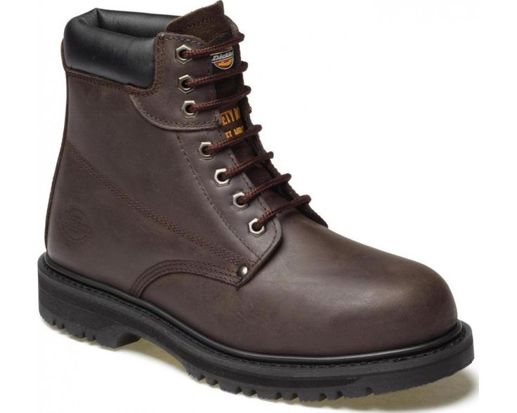 Dickies Cleveland Safety Boot (Sizes 3-14) -  Brown
