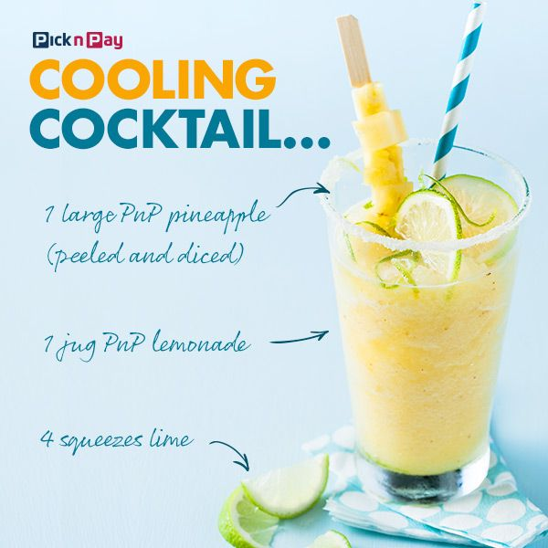 Sunshine in a glass! #cocktail #dailydish #picknpay #freshliving