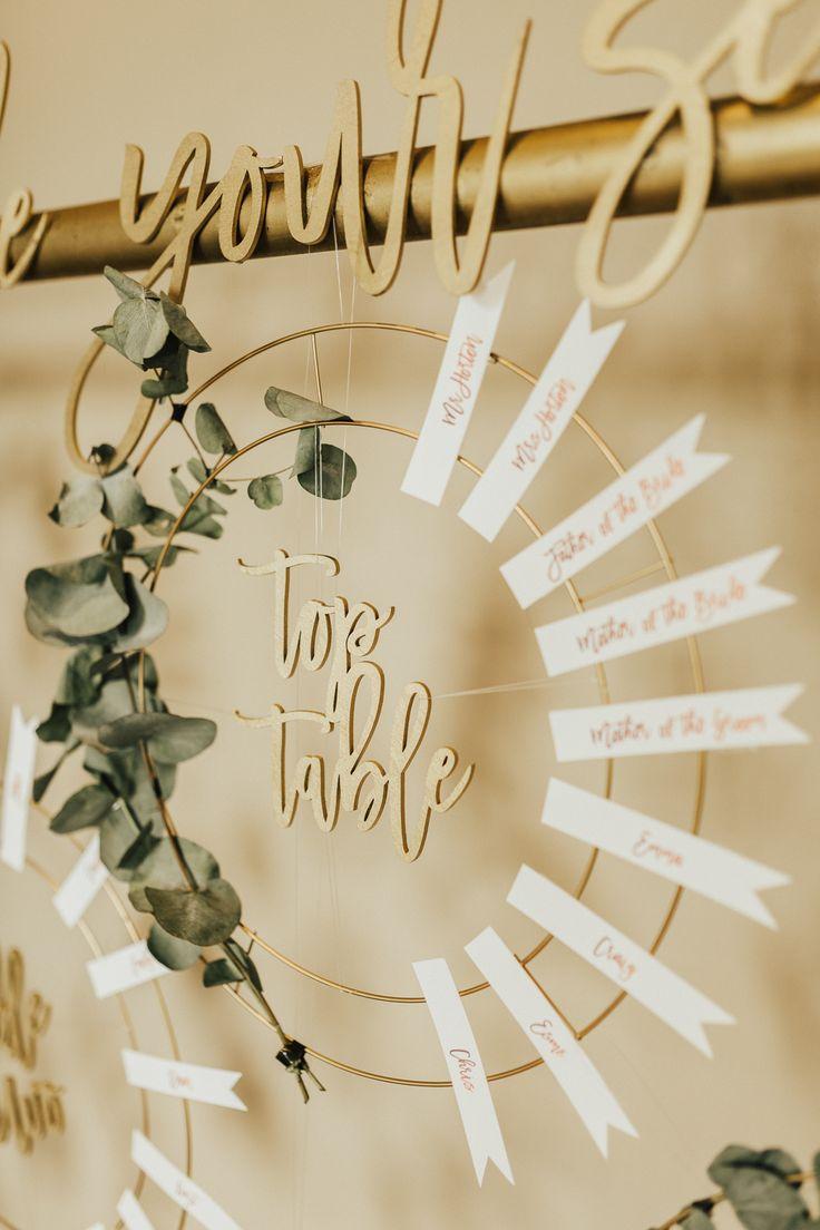 Coral Floral & Romantische Boho Luxe Hochzeit   – Katie Wedding