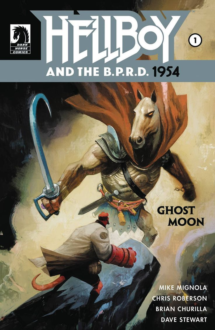 HELLBOY AND BPRD 1954 GHOST MOON #1 (2017)