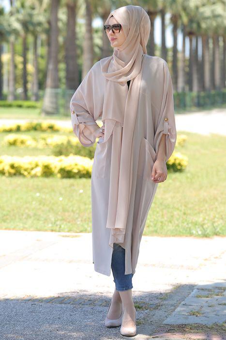 Som Fashion Açık Vizon Ahu Kap