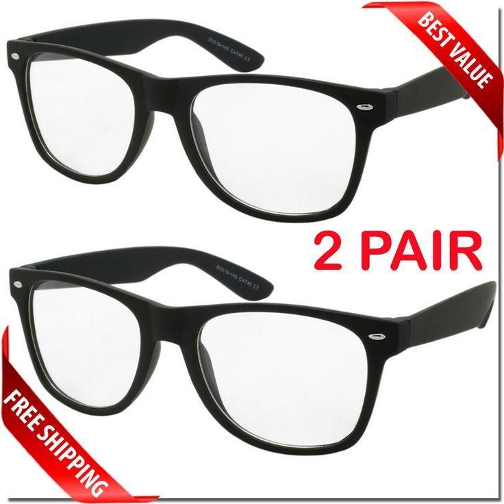 Nerd Model Clear Lens Nerd Fashion Glasses Fashion Eyewear Vintage Sunglasses Retro