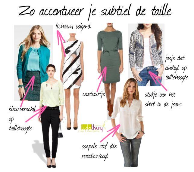 Zo kun je ook je taille accentueren! | www.lidathiry.nl | klik op de foto voor meer details