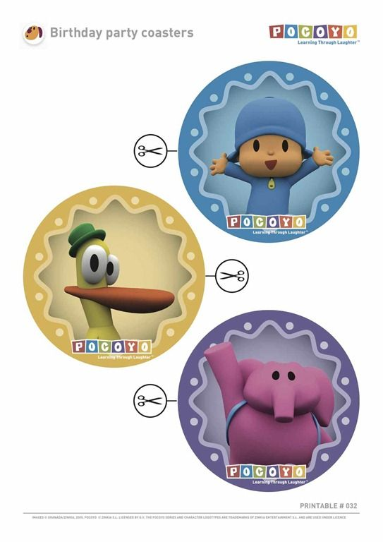 Pocoyo-Birthday-Party-Coasters.jpg 543×768 píxeles
