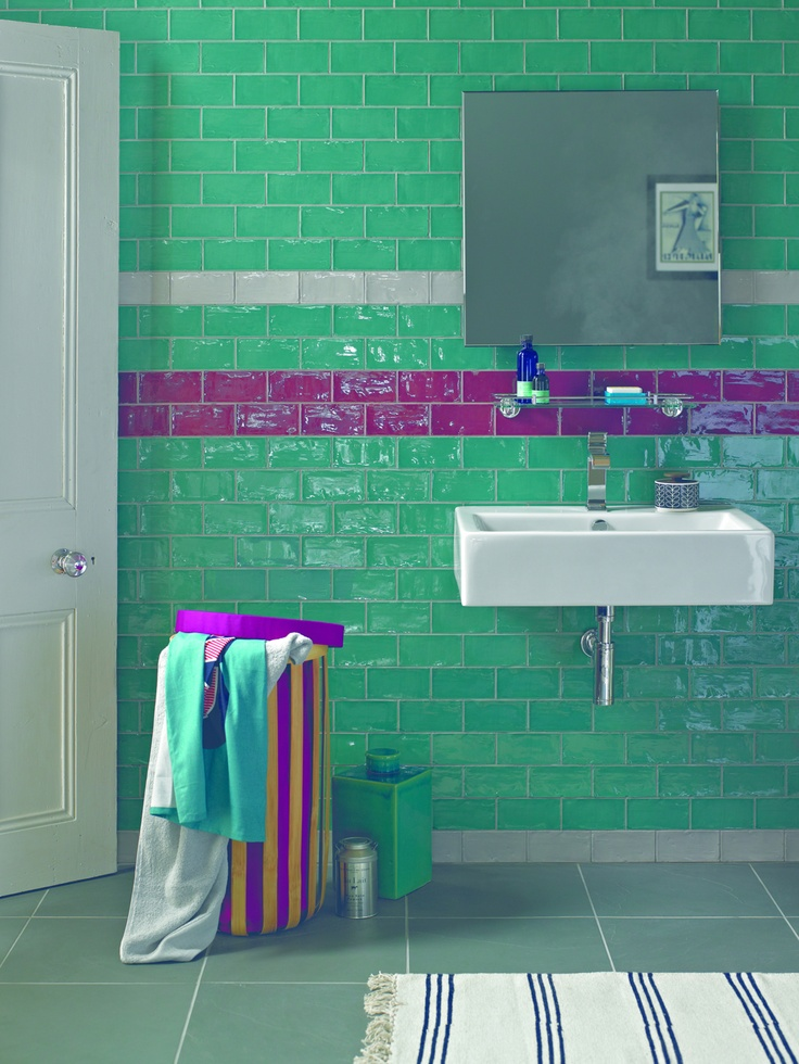 http://www.firedearth.com/  Love this bathroom.