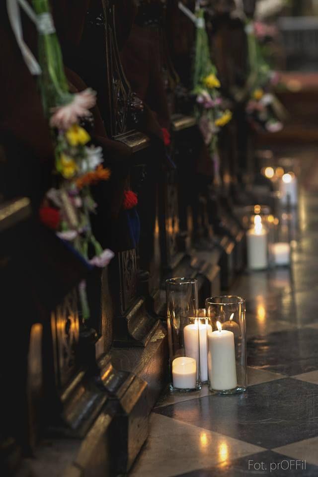 Dekoracje weselne - Kościoł Dominikanów w Krakowie