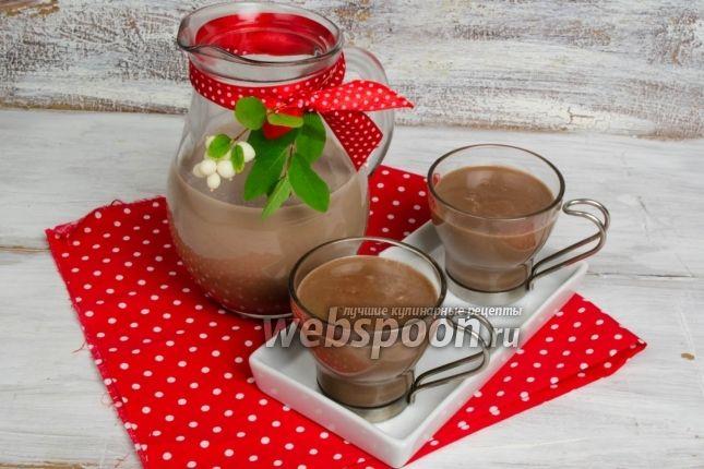 Фото Кисель молочный с какао