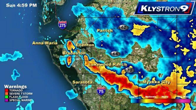 Tampa Bay Weather Radar - Klystron 9 - Bay News 9 | Bay News 9   7-14-13