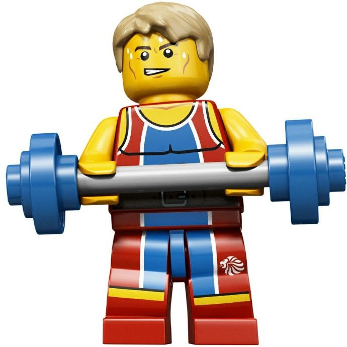 LEGO Olympic Wondrous Weightlifter Minifigure