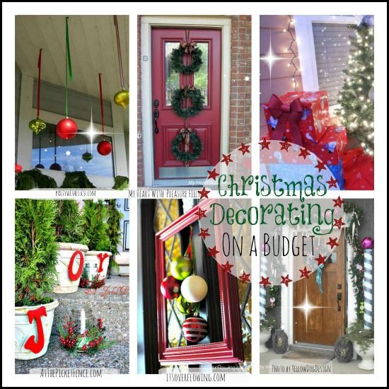 Budget Christmas Decorating: Christmas Decorating On A Budget - Fun Ideas