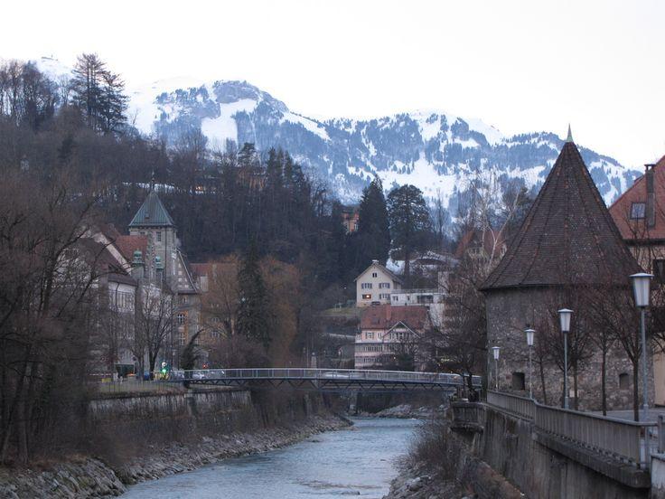 https://flic.kr/p/62fLAr | River Ill: Feldkirch, Austria