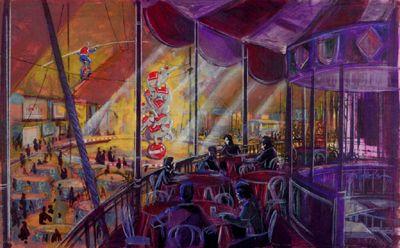 Dumbo Restaurant, Tokyo Disneyland (never built) - Topper Helmers