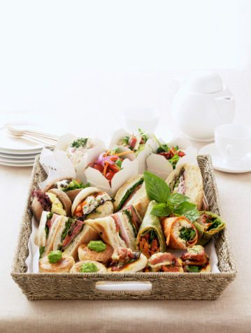 10 cute high tea ideas - Basket case - Page 4 - Food Photos from Better Homes and Gardens - Yahoo!7