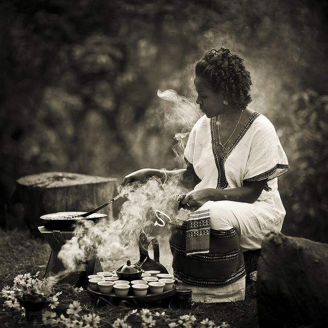 Coffee ceremony - Ethiopia | Steven Goethals