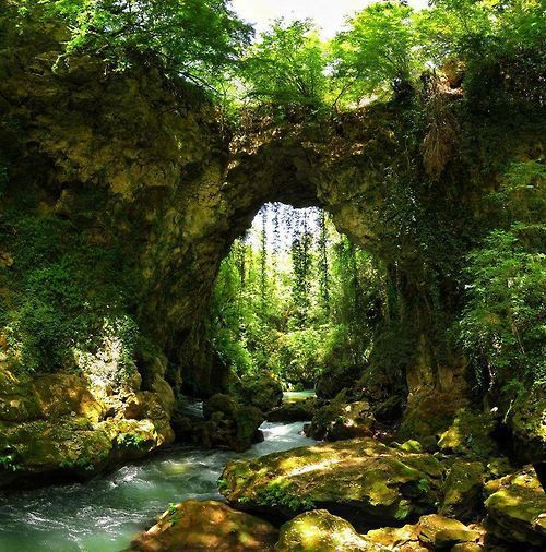 Natural Bridge, Epirus, Greece
