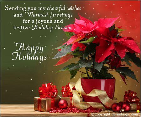 Happy holidays..