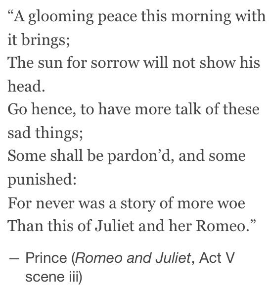 Quotes From Romeo And Juliet: Romeo And Juliet We Settle A Dark Peace This Morning. The