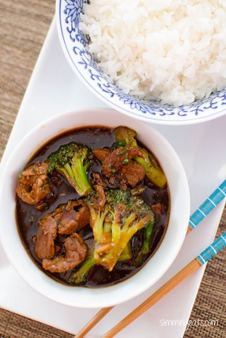 Ginger Beef and Broccoli